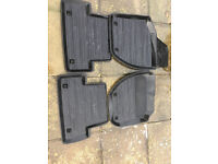 Volvo V40 Rubber Car Mats to fit all models (Years 2012-2015)