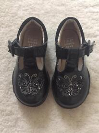 Clarks Patent Shoes - 3.5F