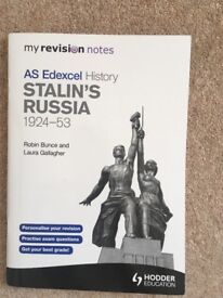 AS Edexcel History Stalin's Russia 1924-53 (Hodder Education Revision Notes)