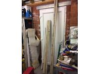 8 foot and 6 foot fluorescent tubes