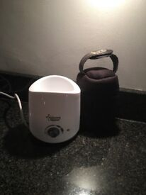 Tommee Tippee bottle warmer with insulated holder