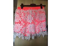 missguided size 15 summer shorts
