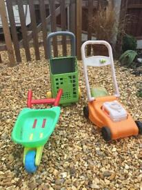 Assorted outdoor toys