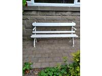 Rustic Style Garden Bench - Very Rare