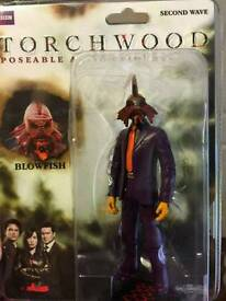 Torch wood figure