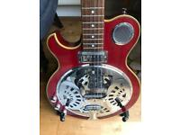 Left handed Tanglewood electric resonator as new