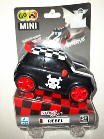 Go mini pull back with a stunt brand new toy cargo for kids