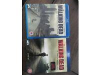 Walking Dead blu ray seasons 1&2