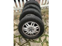 Mercedes Viano Tyres x4