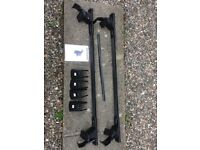 £85. Roof rack incl. roof bars for Skoda Fabia Mk2. Used 2x. New condition. RRP £109.99
