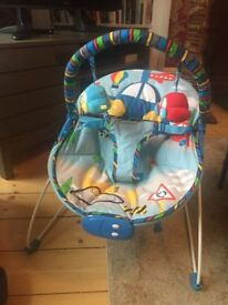 Mothercare Transport Cars Vibrating Bouncer