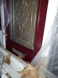 Brand new compostie door. Still in wrapping