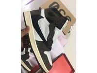 5de9f6c2350 CUSTOM BRAND NEW AIR JORDAN 1 TRAVIS SCOTT UK11