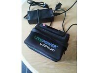 Litepower Lithium golf trolley battery £85