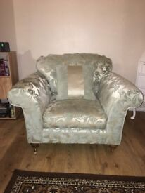 House of Fraser 2 Seater Sofa & Large Single Chair