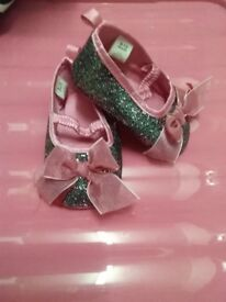 baby girl shoe bundle from 6 months NEW x4 pairs