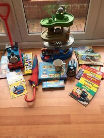 Thomas the tank engine, books, toys, DVD and tent bundle