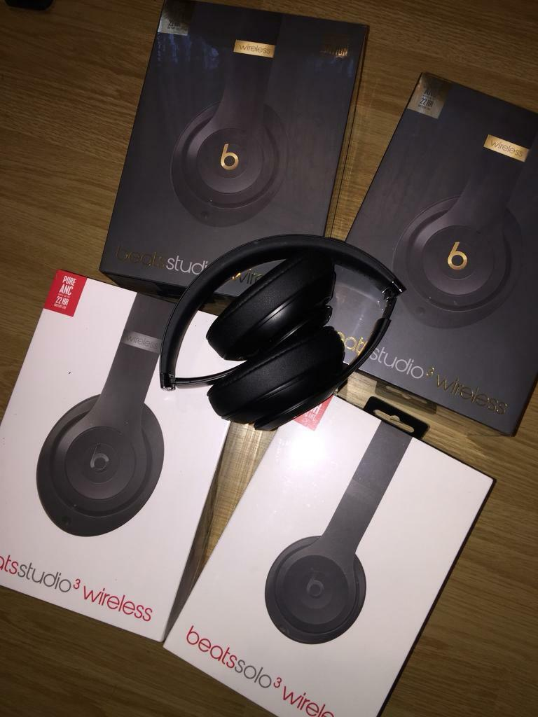 Over-the-Ear Dr Dre Beats Solo Studio 3 Wireless Headphones  f62c99aa7824