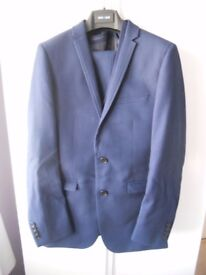 Men's Blue 3 piece suit - Brand - 'OneSixFive' - worn once for prom