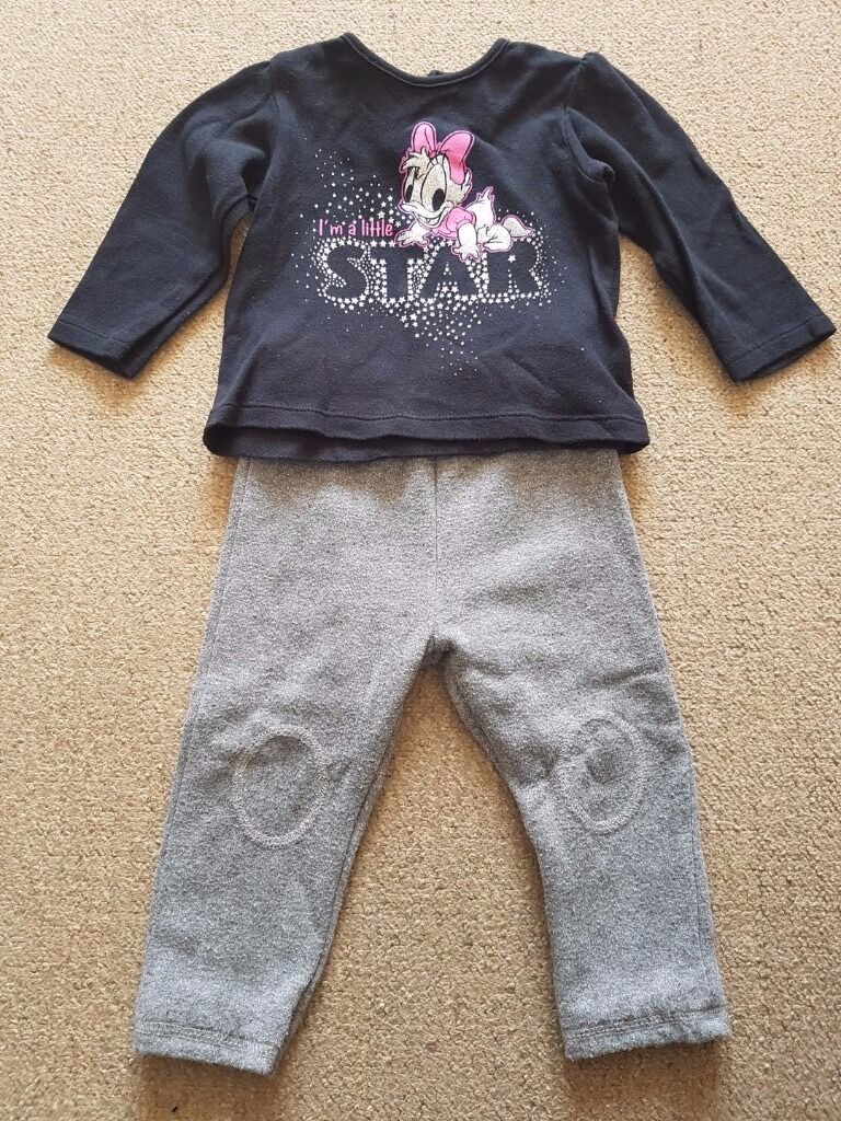 Disney track suits9 12 monthsin Hastings, East SussexGumtree - Disney track suits 9 12 months 1 pink and 1 black and grey. In very good condition. From a smoke & pet free home