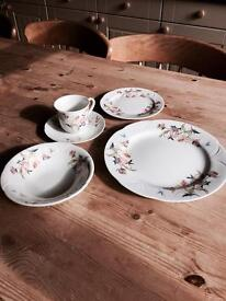 Beautiful fine porcelain China set
