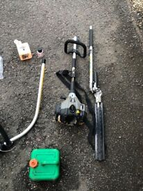 Titan Petrol 2 in 1 Grass & Hedge Trimmer With Accessories
