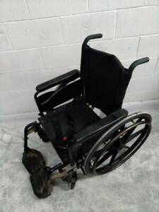 #436 is a 17 wide seat Invacare Patriot manual folding wheelchair for ONLY $60