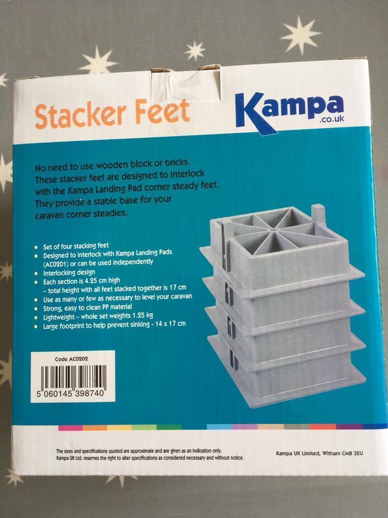 Kampa Stacker Feet | in Banchory, Aberdeenshire | Gumtree