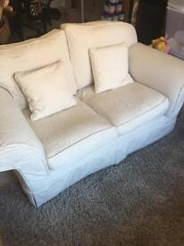 two sofas facing each other £50 collection only
