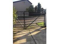 2 Black gates