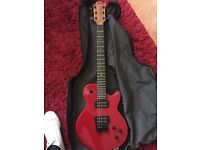 RED IMPERATOR 66 ELECTRIC GUITAR with AMP £70