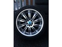 Brand-new wheels and tyres for sale