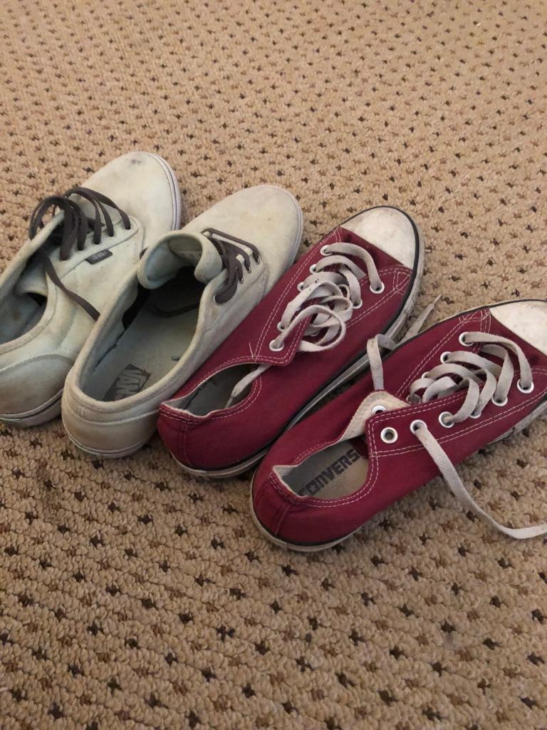 c89143c72609 Vans and converse size uk6