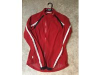 Rapha classic wind jacket women's red size small