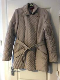 Next beige coat size 12