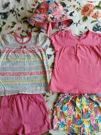 Baby Girl's clothes Bundle 18-24m