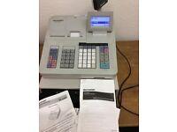 Sharpe cash register till