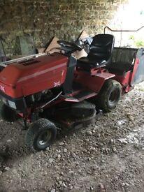 Lawn mower sit on