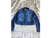 Denim Girls Jacket Age 8/9 Years Old