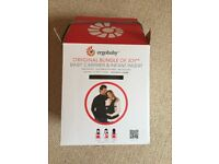 Ergobaby 'original bundle of joy' baby carrier and infant insert