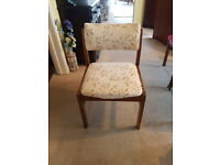 An old chair for sale