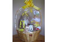 Large Easter Egg in a Basket