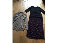 Maternity clothes size 16-18- Skirt, top & blouse bundle, Blooming Marvellous, Dorothy Perkins