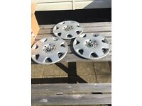 Vw polo hubcaps