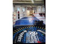 BJJ MATTED FLOOR AREA bags ring weights