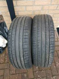 Michelin tyres 225/60/18