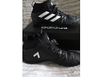 Adidas Football Astro Turf Sock Boots Trainers - Size UK 4 Boxed Like New