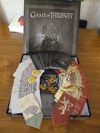 'Game of Thrones' Card Game by HBO - Excellent Condition