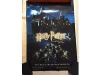 Harry Potter and the Sorcerers Stone bus shelter poster