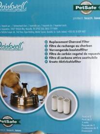 Water filters. 2x. Pet water.